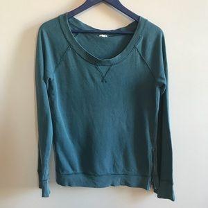 J. Crew zipper side sweatshirt